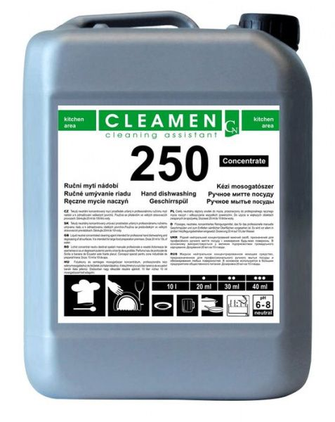 CLEAMEN 250 ruční mytí nádobí koncentrát 5 l