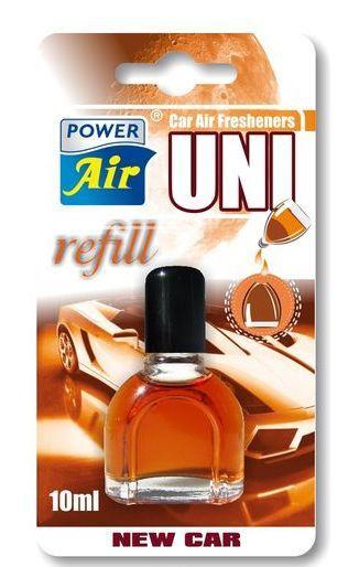 Power-Air UR-19 Náhradní vůně pro všechny typy ventilátorových osvěžovačů New Car