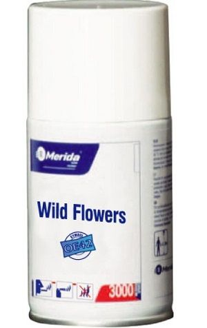 Spray WILD FLOWERS do osvěžovače MERIDA 243 ml