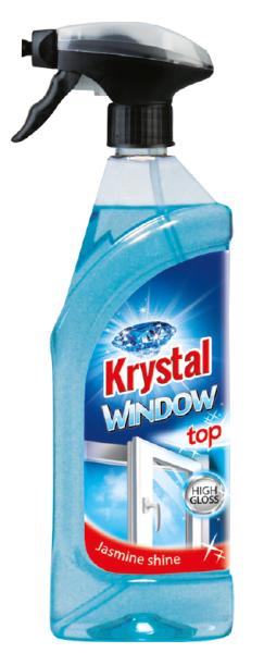 KRYSTAL na okna s rozprašovačem 0,75 l