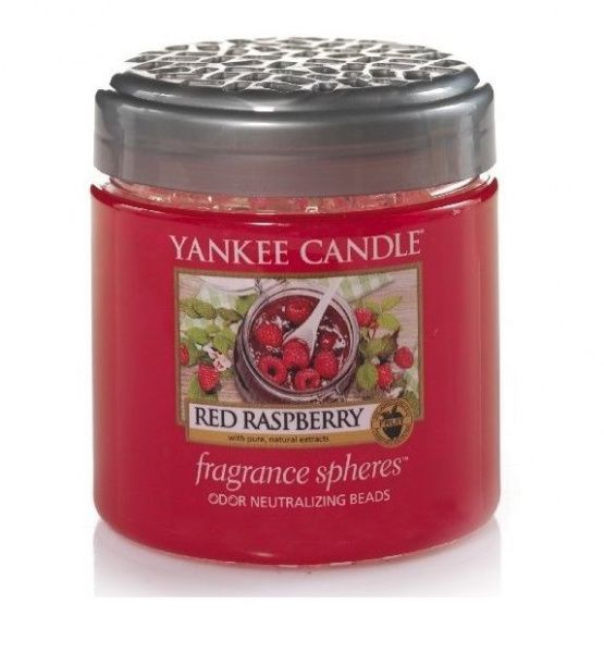 Yankee Candle voňavé perly Spheres Red Raspberry - 170 g