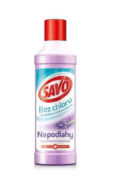 Savo bez chloru na podlahy 1 l - Levandule