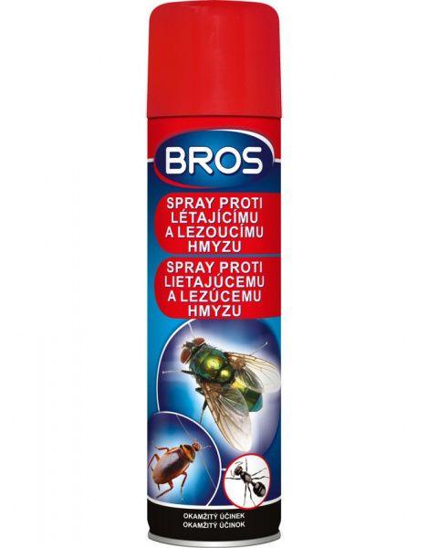 BROS sprej proti létajícímu a lezoucímu hmyzu - 400 ml