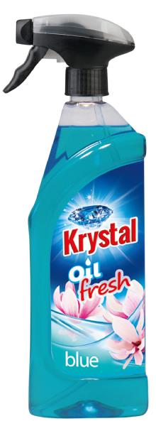 KRYSTAL olejový osvěžovač modrý 0,75 l