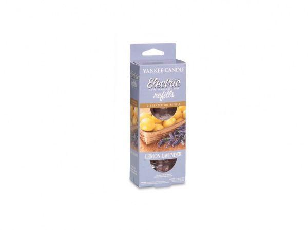Yankee Candle náhradní náplň pro vůni do elektrické zásuvky Lemon Lavender - 2 ks