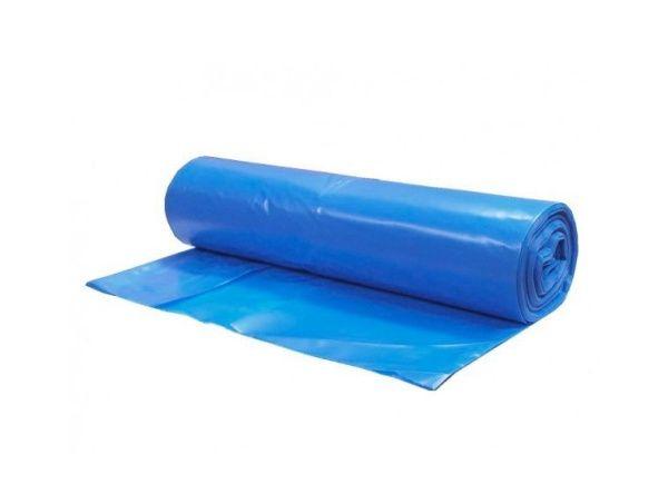 Sáčky do koše 30 l, 50 x 60 cm, v roli 25 ks, 40 um, modré